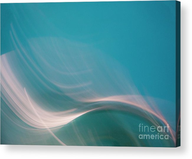 Abstract Acrylic Print featuring the photograph Le Danse by Dorothy Hilde