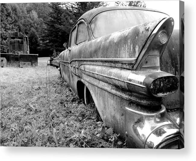 Black And White Acrylic Print featuring the photograph Memory Lane 2 by Jennifer Owen