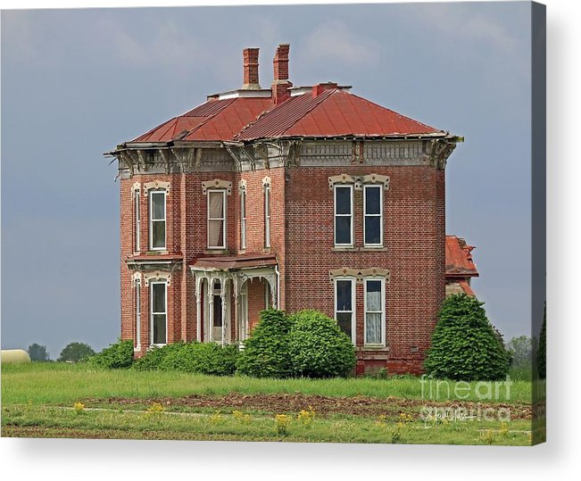 Abandoned Acrylic Print featuring the photograph Middle Of Nowhere 2 by Steve Gass