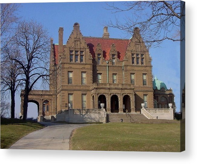 Pabst Mansion Acrylic Print featuring the photograph Pabst Mansion Photo by Anita Burgermeister