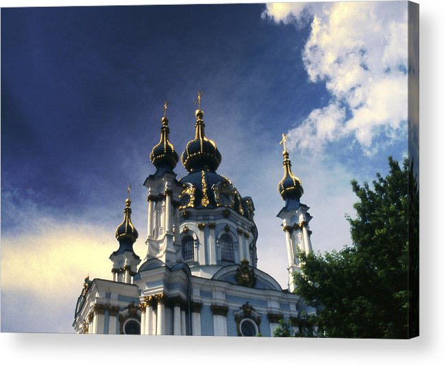 Church Acrylic Print featuring the photograph Palace by Wes Shinn