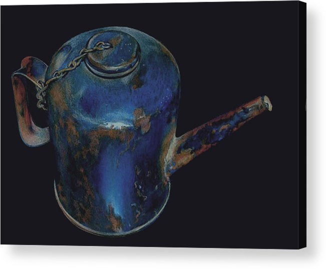 Rust Acrylic Print featuring the painting Rusted by Catherine Henry