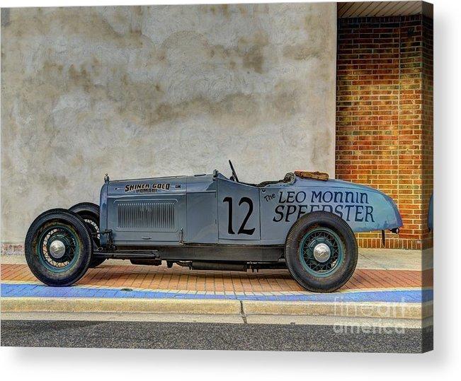 Race Of Gentleman Acrylic Print featuring the photograph Speedster by Jason Barr