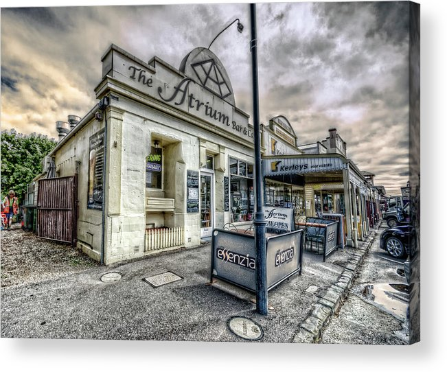 Queenscliff Acrylic Print featuring the photograph Street Narrative by Wayne Sherriff