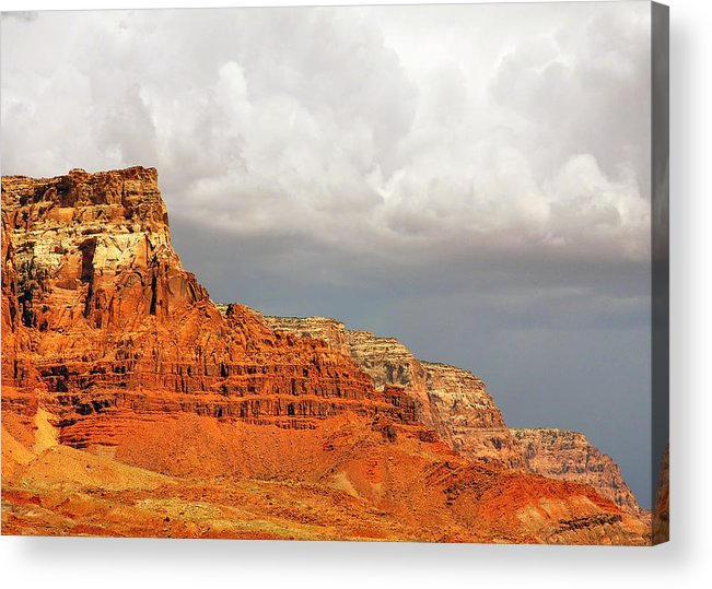 Vermilion Cliffs Acrylic Print featuring the photograph The Condor's Land by Christine Till
