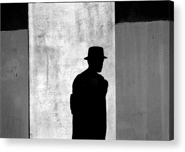 Abstract Acrylic Print featuring the photograph The Last Time I Saw Joe by Steven Huszar