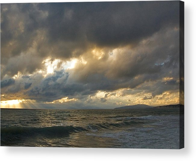 Storm Acrylic Print featuring the photograph The Storm Comes by Antonio Ballesteros Mijailov