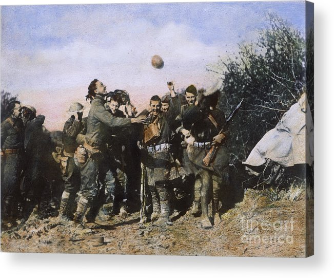 1918 Acrylic Print featuring the photograph World War I: Armistice by Granger