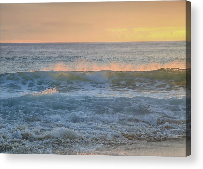 Oahu Acrylic Print featuring the photograph Spray by Laurie Search