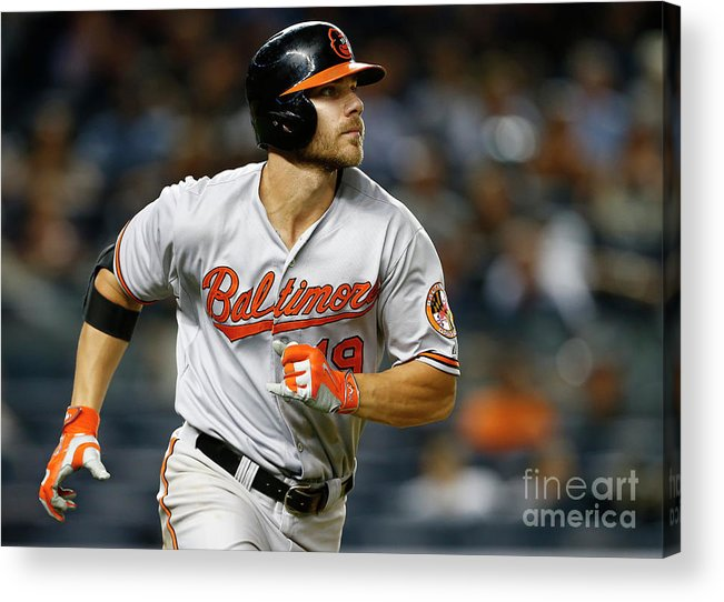 Three Quarter Length Acrylic Print featuring the photograph Chris Davis by Rich Schultz