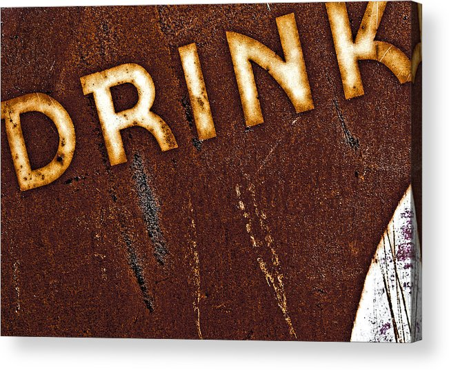 Color Acrylic Print featuring the photograph Drink by Curtis Staiger