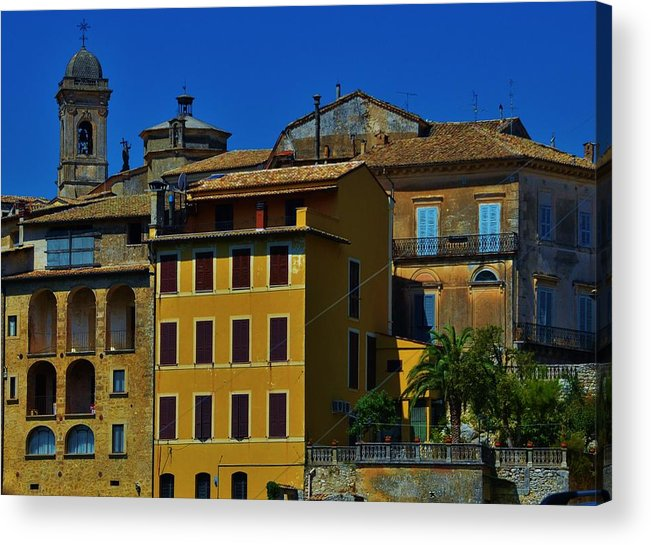 Arpino Acrylic Print featuring the photograph Arpino by Dany Lison