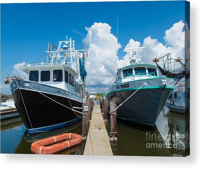 Louisiana Acrylic Print featuring the photograph Slip 29 by Susie Hoffpauir