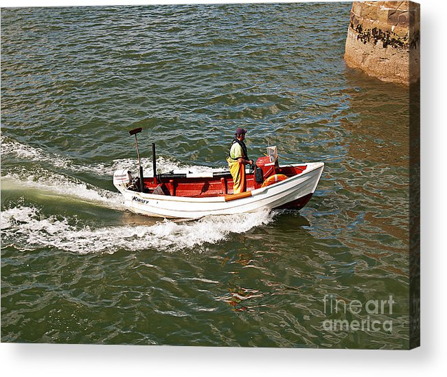 Boat Acrylic Print featuring the photograph Kirsty by David Hollingworth