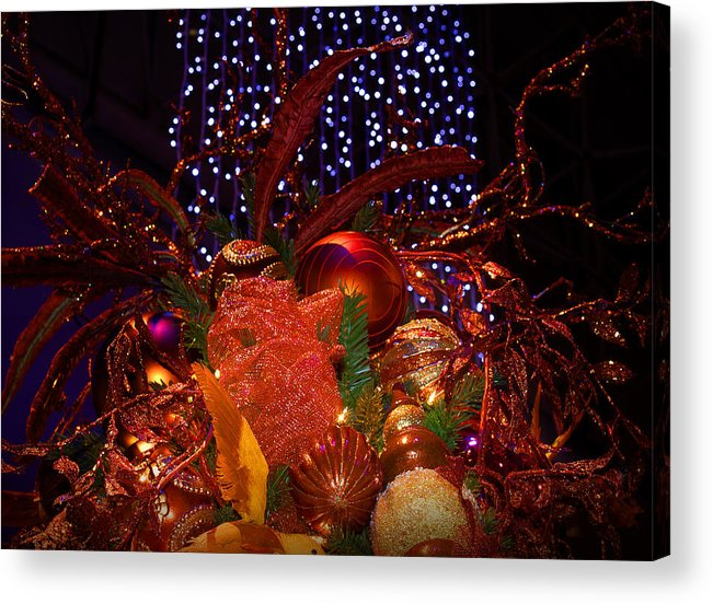 Holidays Acrylic Print featuring the photograph Art Of The Holidays by Milena Ilieva