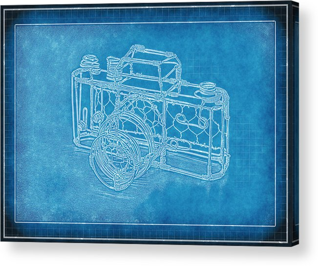 Art Acrylic Print featuring the photograph Camera 1b by Mauro Celotti