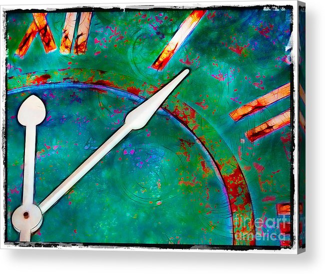 Circles Acrylic Print featuring the photograph Once Upon A Time by Judi Bagwell