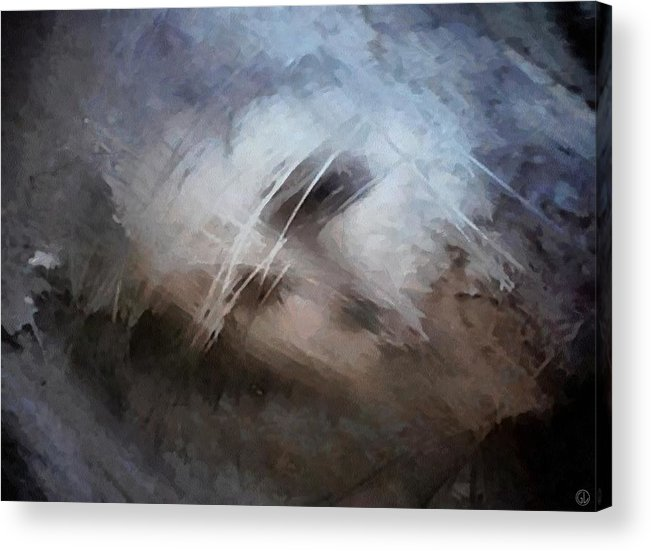 Abstract Acrylic Print featuring the digital art Seeking Rest by Gun Legler