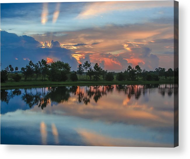 Sunrise Acrylic Print featuring the photograph Viera Sunrise by Kenneth Blye