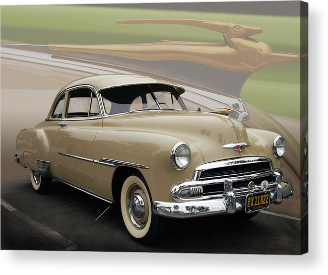 51 Acrylic Print featuring the photograph 51 Chevrolet Deluxe by Bill Dutting