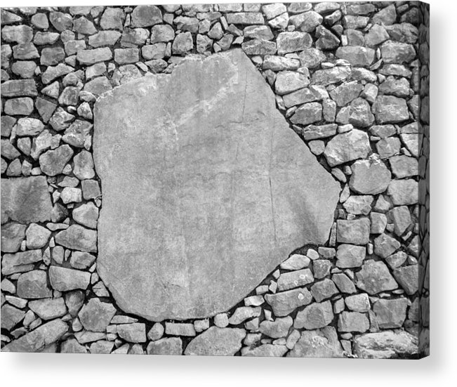 Machu Picchu Acrylic Print featuring the photograph Big Rock by Marcus Best