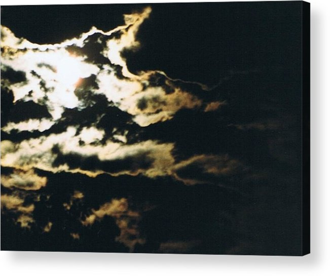 Moonlight Acrylic Print featuring the photograph Cloudscape I by Curtis Schauer