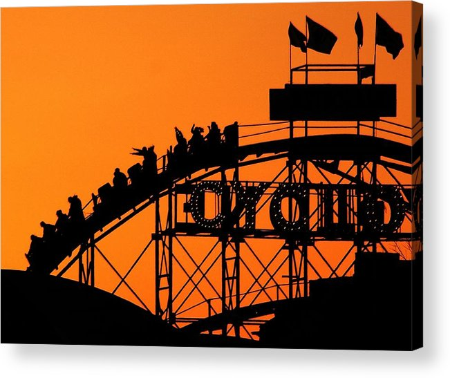 Cyclone Acrylic Print featuring the photograph Cyclone by Mitch Cat