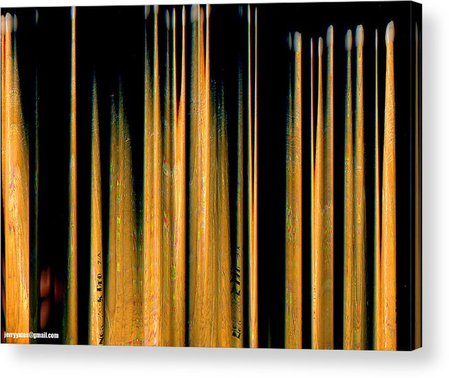 Drumstick Acrylic Print featuring the photograph Drumstick by Gerard Yates