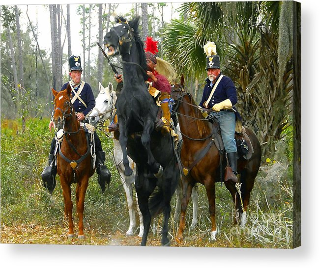 Seminole Indians Acrylic Print featuring the photograph Escape Of Billy Bowlegs by David Lee Thompson