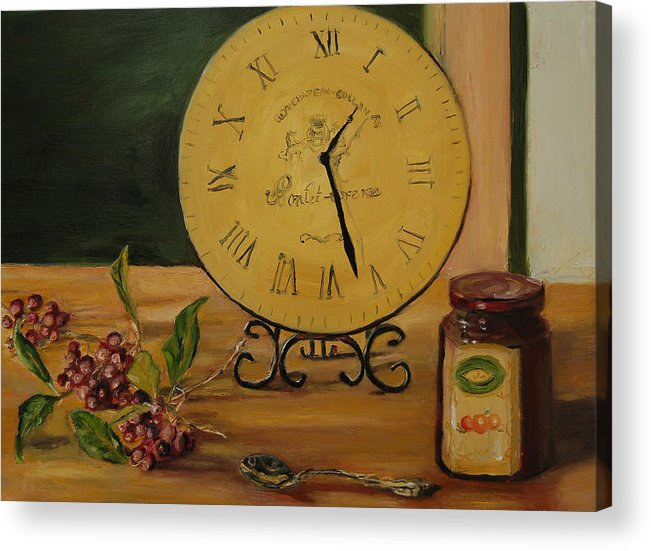 Konkol Acrylic Print featuring the painting Friendship Is Timeless by Lisa Konkol
