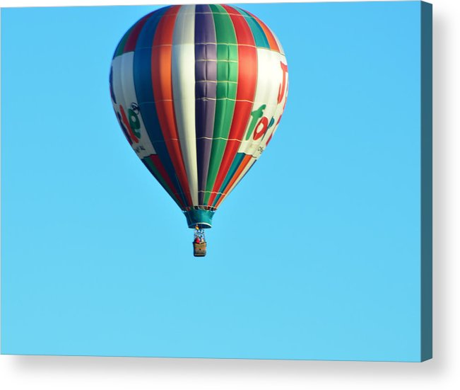 Hot Air Balloons Acrylic Print featuring the photograph Jump For Joy by Jan Amiss Photography