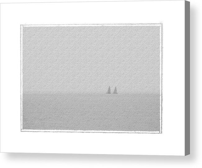 Seascape Acrylic Print featuring the photograph Mates by Robert Boyette