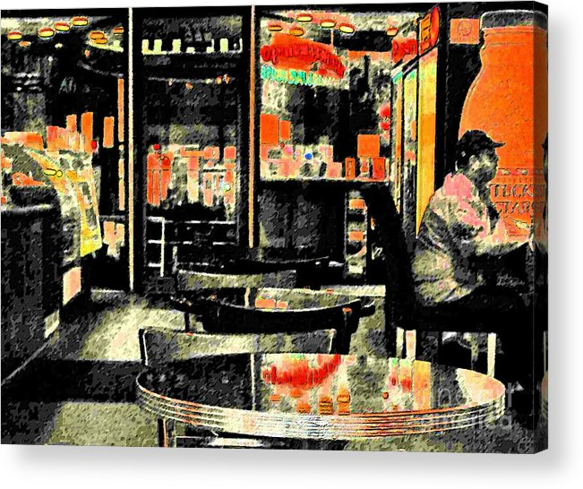 Orange Acrylic Print featuring the photograph Orange by Gary Everson