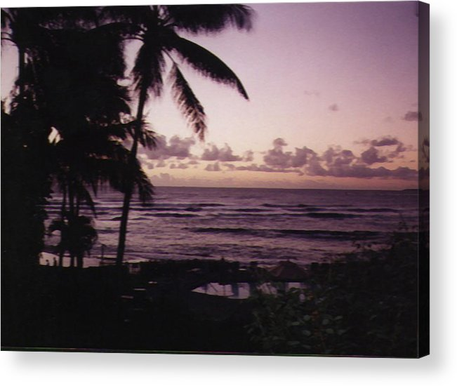 Hawaii Acrylic Print featuring the photograph Rise by Adam Wells