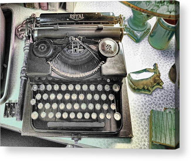 Still Life Acrylic Print featuring the photograph Royally Yours by Jan Amiss Photography