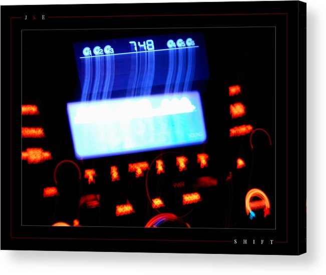Shift Acrylic Print featuring the photograph Shift by Jonathan Ellis Keys