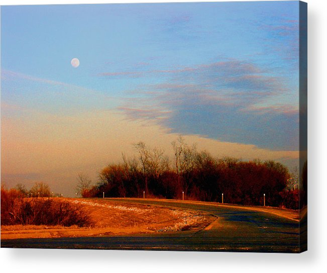 Landscape Acrylic Print featuring the photograph The On Ramp by Steve Karol