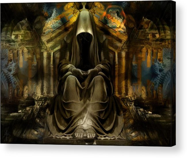 The Seven Monks Of Tarthyohr Acrylic Print featuring the photograph The Seven Monks Of Tarthyohr by Daniel Arrhakis