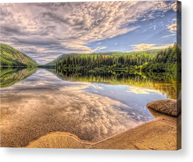 Canada Acrylic Print featuring the photograph This Is British Columbia No.28 - Conkle Lake by Paul W Sharpe Aka Wizard of Wonders