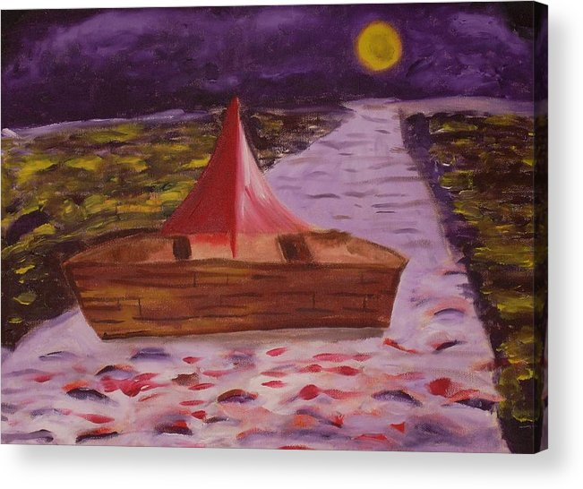 Acrylic Print featuring the painting What Is Traditional by Joseph Arico