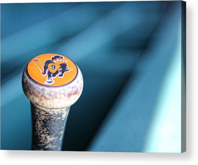 American League Baseball Acrylic Print featuring the photograph Baltimore Orioles V Detroit Tigers 10 by Leon Halip