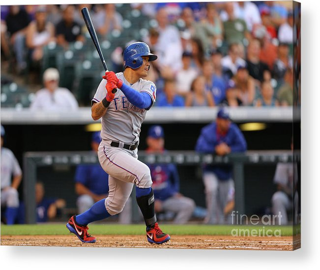 Second Inning Acrylic Print featuring the photograph Shin-soo Choo by Justin Edmonds