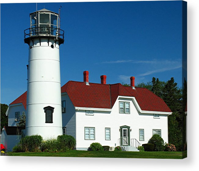 Lighthouse Acrylic Print featuring the photograph Chatham Lighthouse by Juergen Roth