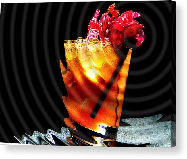 Bar Acrylic Print featuring the photograph One Too Many by Lyle Barker