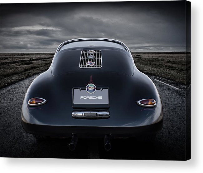Classic Acrylic Print featuring the digital art Open Road by Douglas Pittman