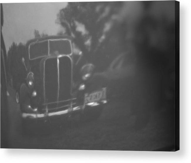 Vintage Car Acrylic Print featuring the photograph Reflections Past by Mark Alder