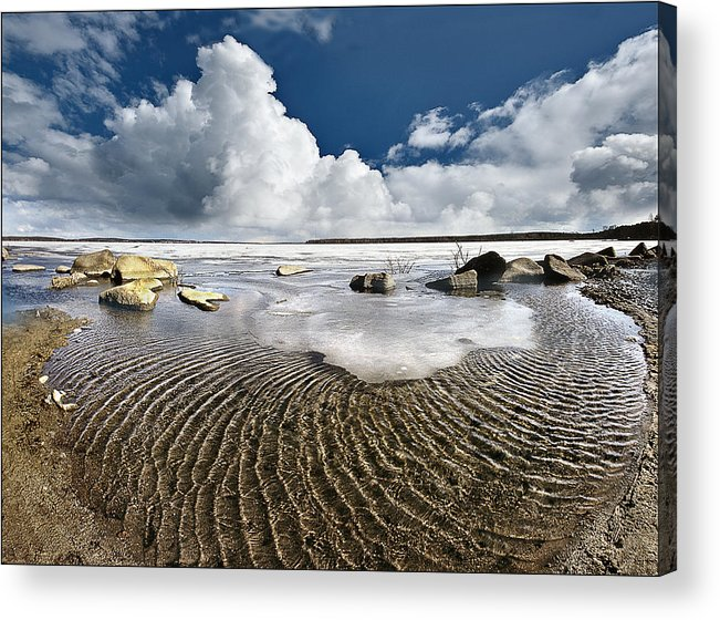 Landscape Acrylic Print featuring the photograph Spring Time12 by Vladimir Kholostykh