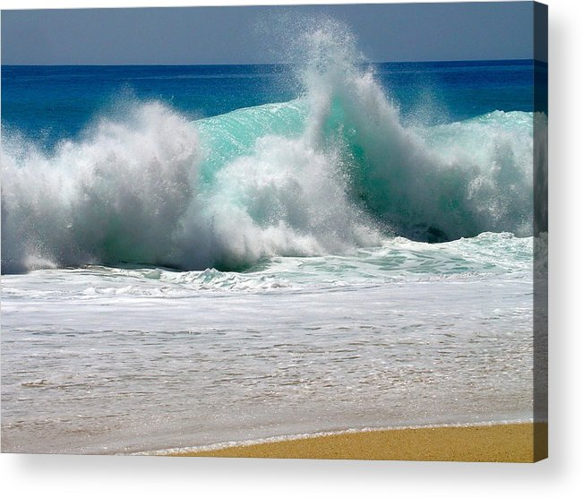 Water Acrylic Print featuring the photograph Wave by Karon Melillo DeVega