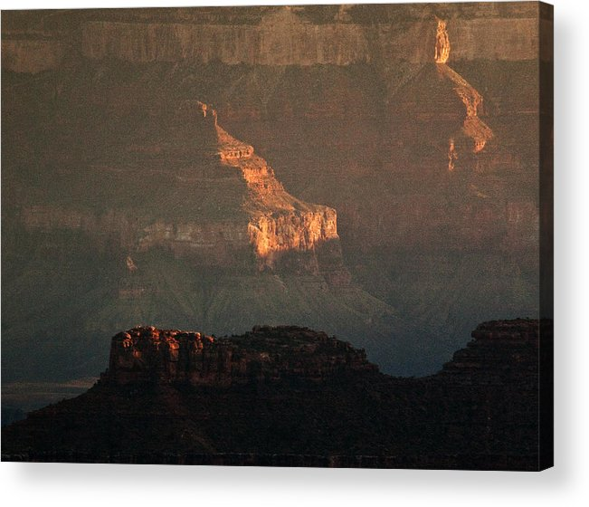 Usa Acrylic Print featuring the photograph Grand Canyon by Aurica Voss