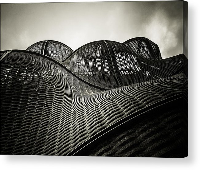 Architecture Acrylic Print featuring the photograph Artistic Curves by Lenny Carter
